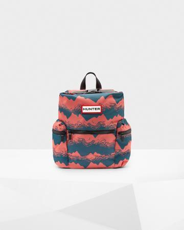 Original Printed Top Clip Mini Backpack - Nylon