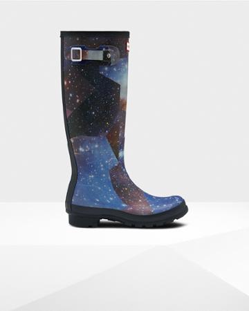 Women's Original Tall Space Camo Rain Boots