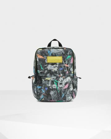 Original Printed Puffer Backpack