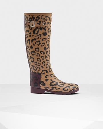 Women's Original Hybrid Print Refined Tall Rain Boots