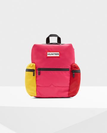 Original Color Block Mini Top Clip Backpack