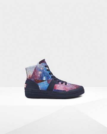 Men's Original Space Camo Hi Canvas Sneakers