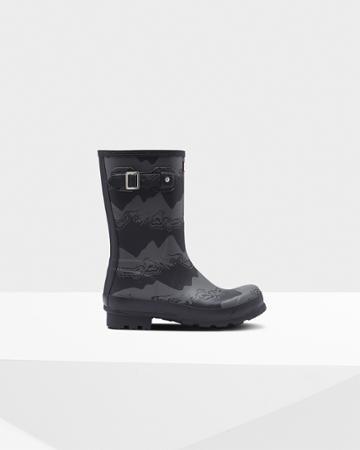 Men's Original Short Storm Stripe Rain Boots