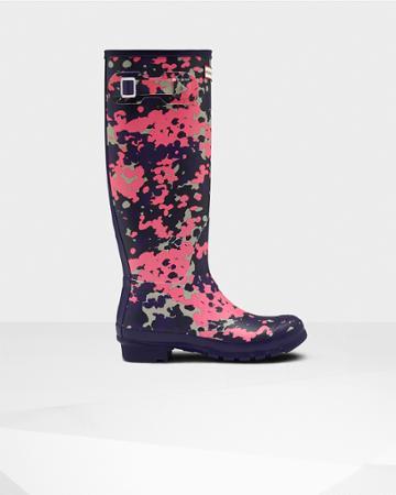 Women's Original Tall Flecktarn Spacepop Rain Boots