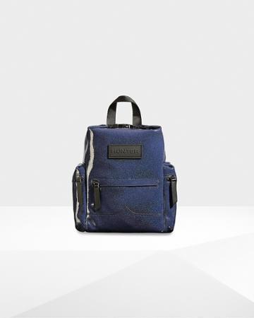 Original Top Clip Mini Backpack - Rubberized Leather