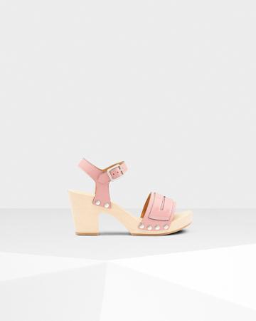 Women's Refined Penny Loafer Sandal Clogs
