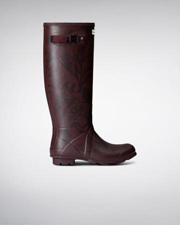 Women's Norris Field Printed Rain Boots