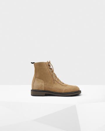 Men's Original Suede Commando Boots