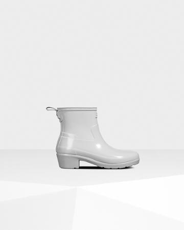 Women's Refined Low Heel Gloss Duo Ankle Boots