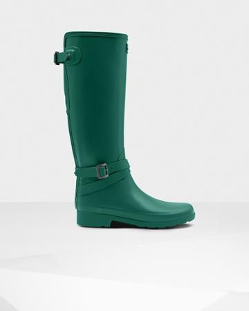 Women's Refined Slim Fit Adjustable Tall Rain Boots