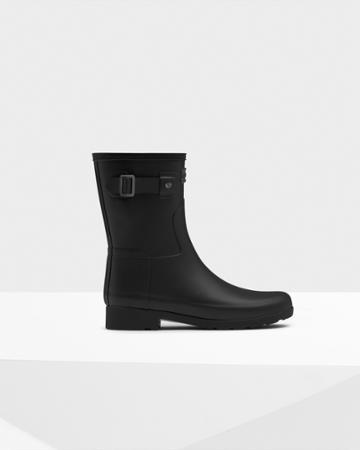 Women's Refined Slim Fit Short Rain Bootss