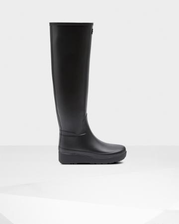 Women's Refined Slim Fit Creeper Knee-high Boots