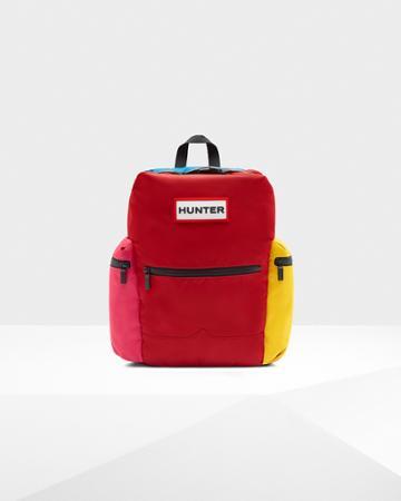 Original Color Block Top Clip Backpack