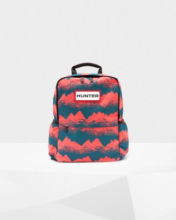 Original Printed Nylon Backpack