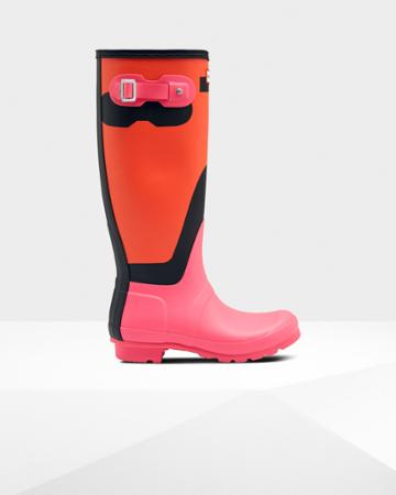 Women's Original Tall Shadow Print Rain Boots