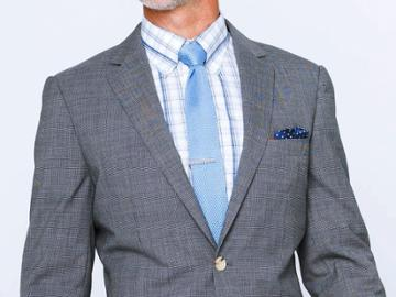 Indochino Charcoal Micro Houndstooth Custom Tailored Men's Suit
