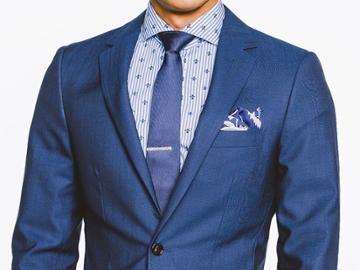 Indochino Nautical Navy Custom Tailored Men's Suit