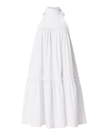 Caroline Constas Bo Bow Back Dress