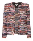 Iro Multicolor Collarless Jacket