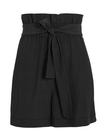 3.1 Phillip Lim Paperbag Shorts Black Zero