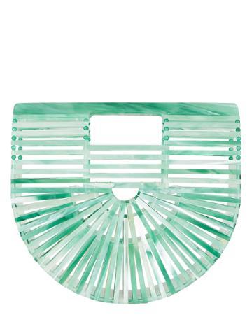 Cult Gaia Ark Mini Half Seaglass Bag Seaglass 1size