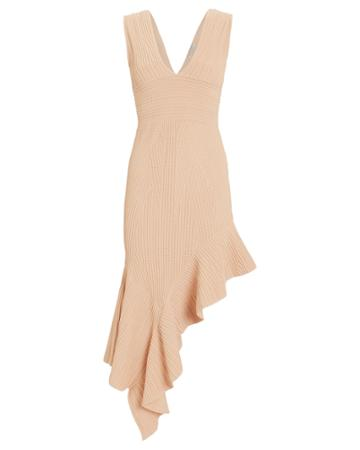 Torn Ronny Kobo Jennifer Midi Dress Blush M
