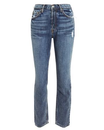 Grlfrnd Karolina Cropped Jeans Denim 25