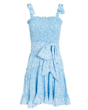 Coolchange Reagan Mini Dress Blue/polka Dot M
