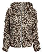 Veronica Beard Sibila Leopard Anorak Leopard M