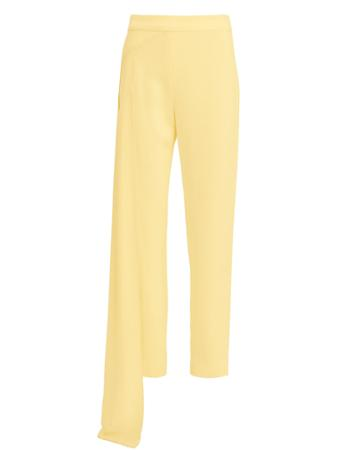 Hellessy Nasir Cropped Waist Panel Pants Yellow 8