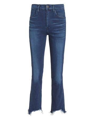 3x1 Denim 3x1 W3 Straight Authentic Crop  Eleta Jeans Denim-drk 26