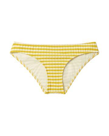 Solid & Striped Elle Yellow-striped Bikini Bottoms Pattern P