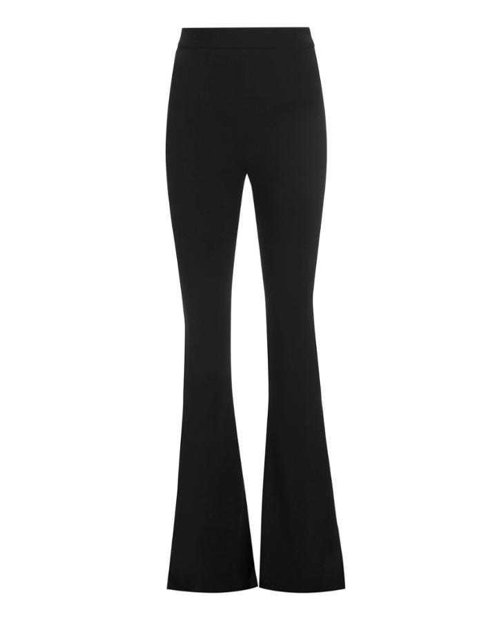 Brandon Maxwell Exaggerated Flare High-waist Pants