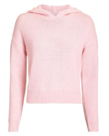 Exclusive For Intermix Intermix Minnie Cropped Hoodie Light Pink M