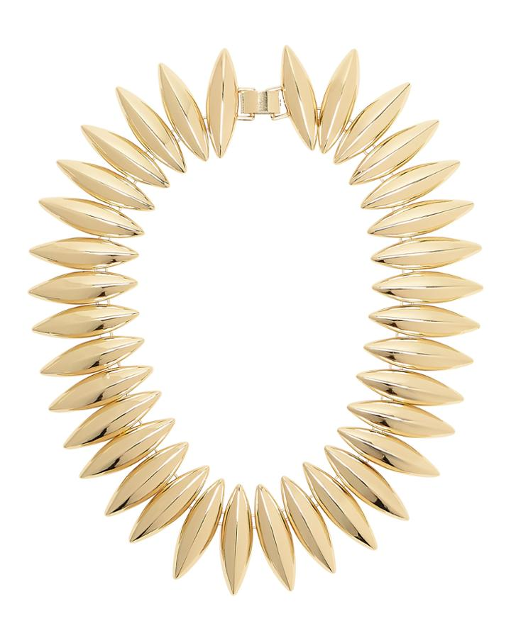 Tuleste Market Tuleste Talon Interlocking Necklace Gold 1size