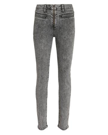Victoria Victoria Beckham Victoria, Victoria Beckham Power High Acid Wash Jeans Black 25