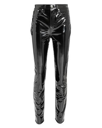 Rag And Bone Rag & Bone Patent Skinny Pants Black 25