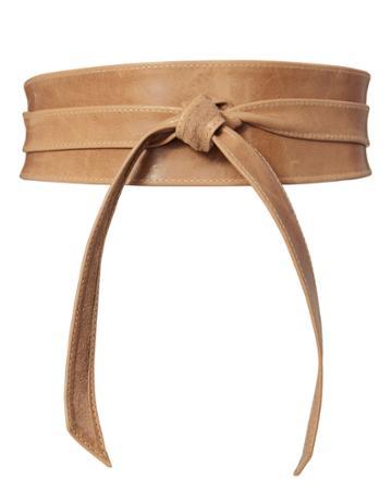 Brave Nude Leather Waist Belt