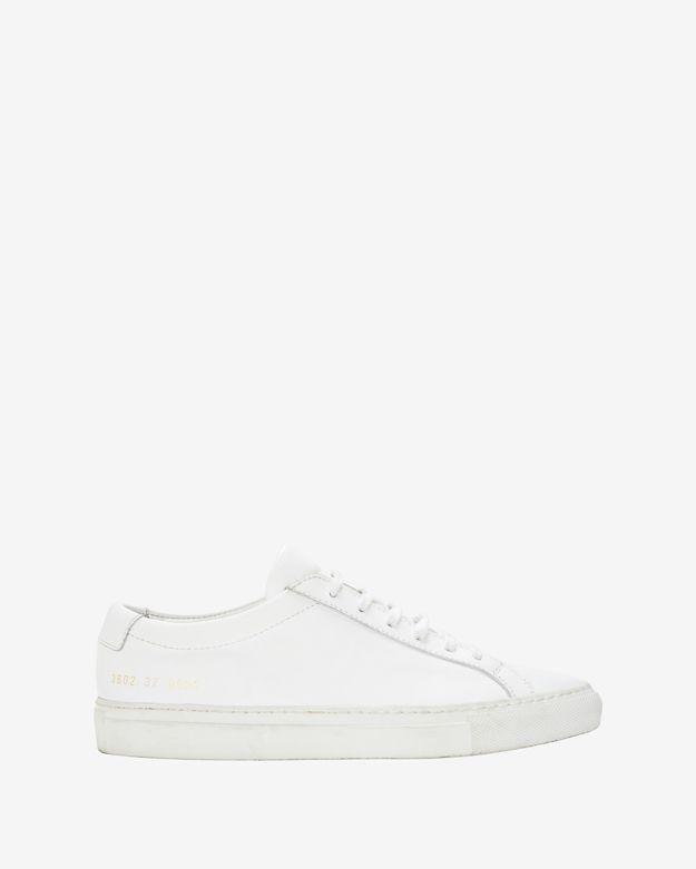 Common Projects Achilles Lace-up Sneaker: White