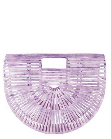 Cult Gaia Ark Mini Half Lavender Bag Lavender 1size