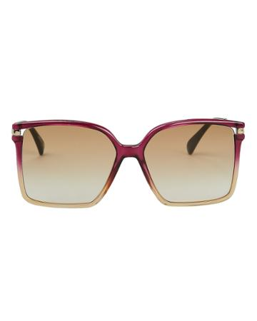 Givenchy 7130 Gradient Sunglasses Pink-drk 1size