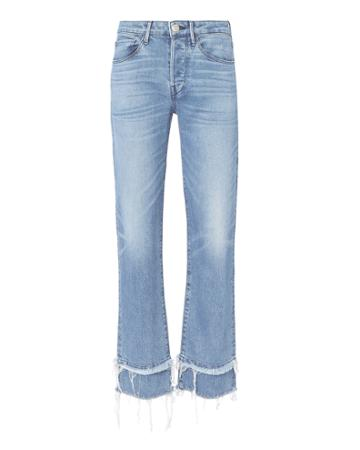 3x1 Denim 3x1 Petal Higher Ground Slim Cropped Jeans Denim 27