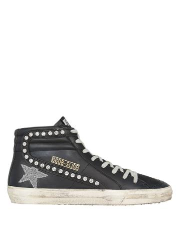 Golden Goose Superstar Swarovski Crystal Sneakers Black/crystals 39