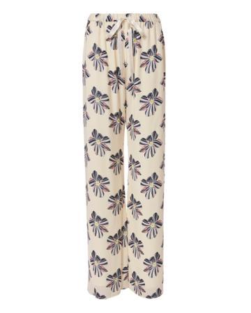 Alexis Welsley Floral Silk Pants