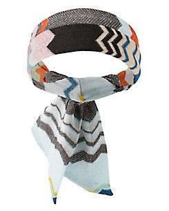 Missoni Lurex Chevron Headband