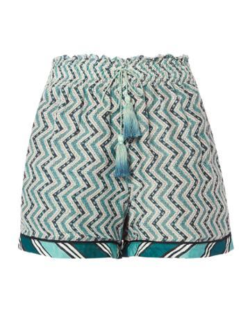 Talitha Zig Zag Ruched Shorts