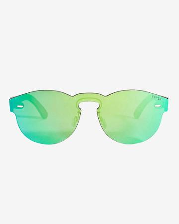 Super Sunglasses Tuttolente Paloma Sunglasses: Green