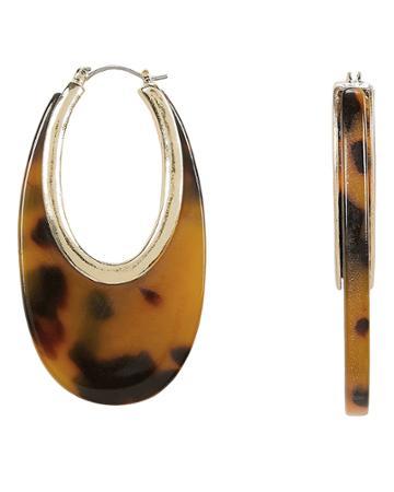 Amber Sceats Pisa Earrings Gold/tortoise 1size