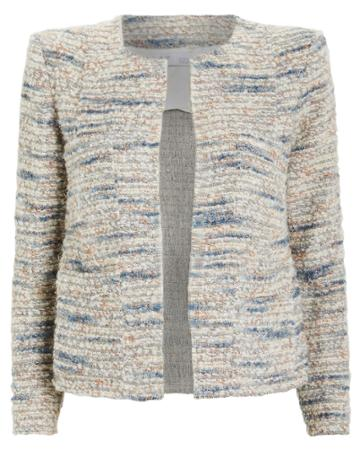 Iro Belugo Tweed Jacket Light Blue 40