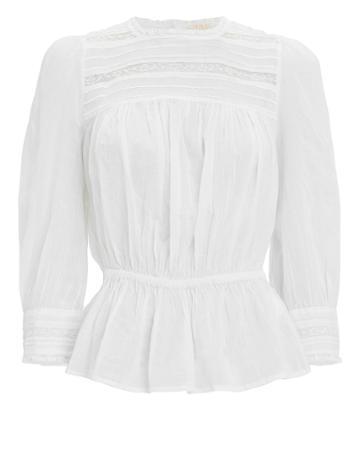 Bytimo Cotton Lace Blouse White L